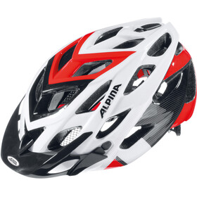 Alpina D-Alto Helmet white-black-red